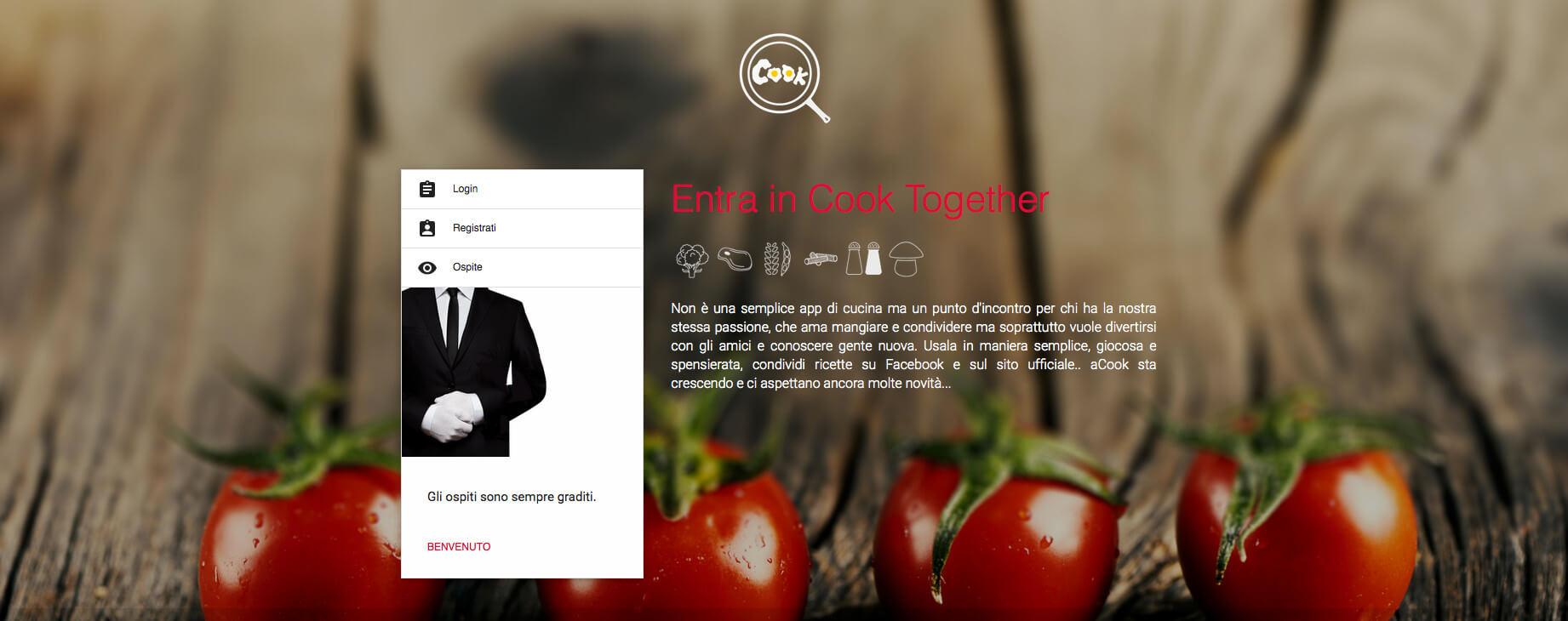 La cucina diventa social con Cook Togheter, scarica l'app per IOS e Android